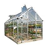 Poly-Tex, Inc. Palram Snap & Grow 6' x 16' Hobby Greenhouse - Silver HG6016