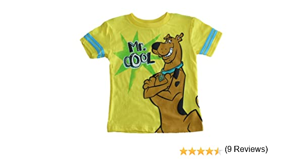 Amazon.com: Scooby-Doo Mr. Cool Little Boys T-shirt (2T-4T) (2T): Clothing