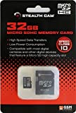Stealth Cam 32GB STC-32MICSD Micro SD Card High Speed Data Transfer