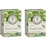 Traditional Medicinals Organic Nettle Leaf Herbal Tea - 16 Tea Bags Each/Pack of 2