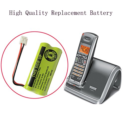 BAOBIAN 2.4V Rechargeable Cordless Phone batteries for AT&T/Lucent BT-18433 BT-184342 BT-28433 BT-284342 BT-6010 BT-8000 BT-8001 BT-8300 Empire CPH-515D CPH515D(Pack of 4)