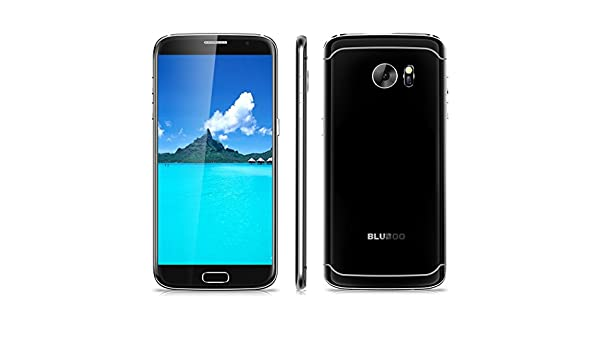 Bluboo Edge - 4G Smartphone Libre Android 6.0 Multi-Idioma (Inteligente Frontal Touch ID, Sensor de Corazón, HD Pantalla 5.5 IPS, MT6737 Quad Core 1.3 GHz, 2G Ram, 16G Rom, Dual Sim, Bluetooth