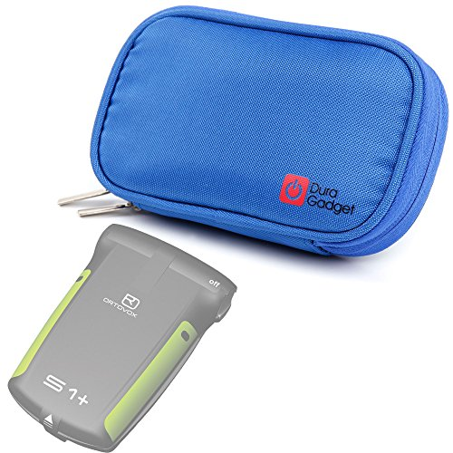 DURAGADGET High Quality Blue Memory Foam Protective Case for NEW Ortovox 3+, Ortovox S1+ Avalanche Transceiver by DURAGADGET