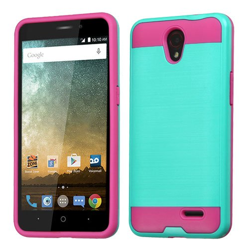 asmyna-cell-phone-case-for-zte-avis-trio-teal-green-hot-pink