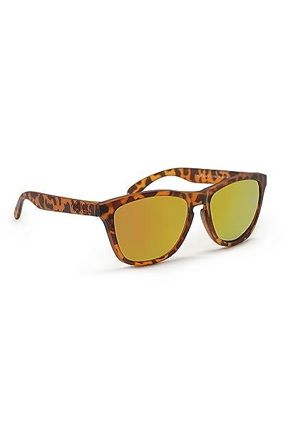 KOALA BAY Gafas Polarizadas Palm Beach Marrón Carey Lentes Naranja Espejo