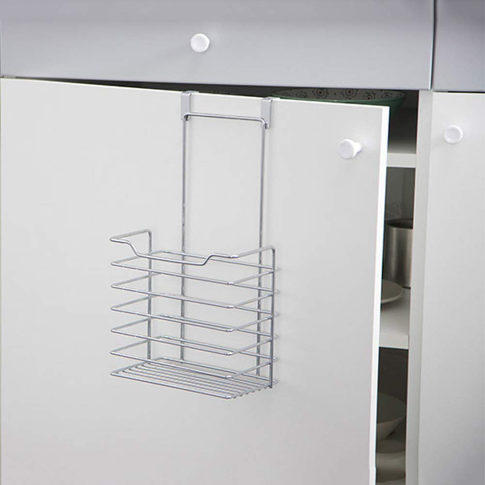 Shelf Storage Racks Storage Basket Shelf Baskets Kitchen Storage Rack Iron Art Hanger Cupboard Hanging Basket Wall-Mounted Spice Rack ZHAOYONGLI (Size : 19.714.36.2cm) by ZHAOYONGLI-shounajia (Image #3)