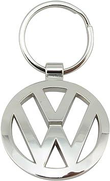 Silver Volkswagen 000087908 Keyring Keychain