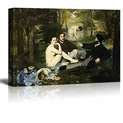 Luncheon on The Grass by Edouard Manet Stretched...