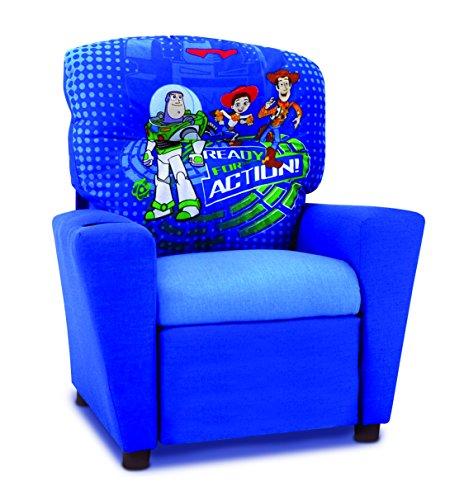 Kidz World Toy Story 3 Kids Recliner in Blue 446459 by Kidz World