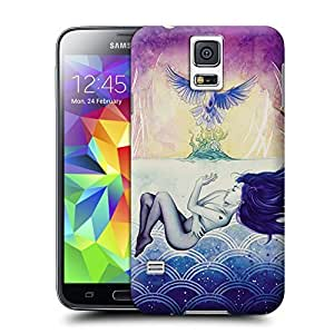 Unique Phone Case Impression painting A Slow Drift Hard Cover for samsung galaxy s5 cases-buythecase by lolosakes