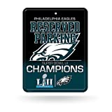 NFL Philadelphia Eagles 8-Inch by 11-Inch Metal
