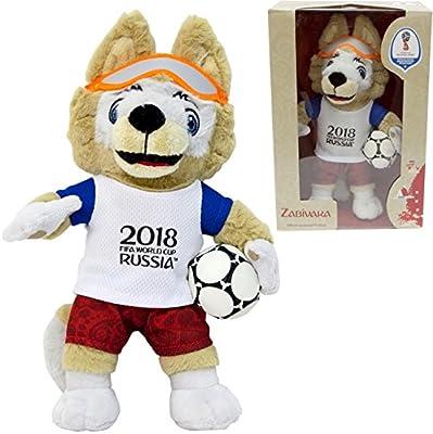 Amazon.com: Zabivaka - Official Mascot of FIFA 2018 (24cm) GIFT EDITION: Toys & Games