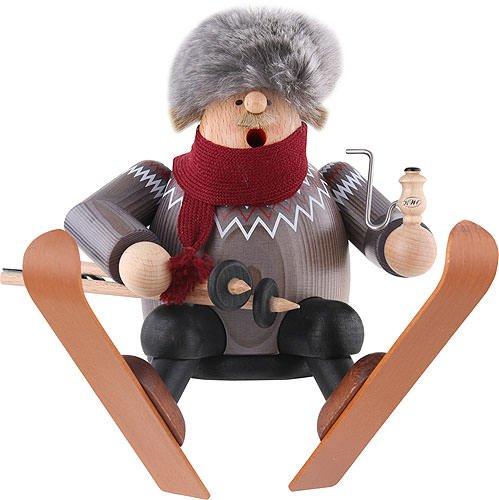 KWO Sitting Skier German Incense Smoker by KWO