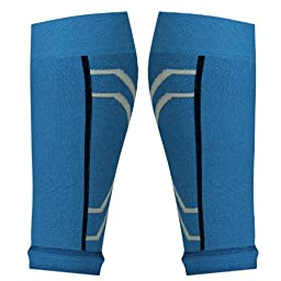 Compression Calf Sleeves Perfect for Men or Women Looking To Boost Circulation and Aid Faster Recovery. Helps Shin Splints (Pack of 2) Medium