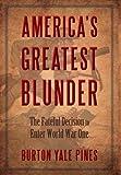 America's Greatest Bunder, Burton Pines, 0989148734