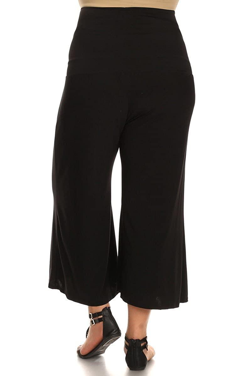 605591ec9a57d PB COUTURE Womens Plus Size Gaucho Maternity Capri Pants Culotte at Amazon  Women's Clothing store: