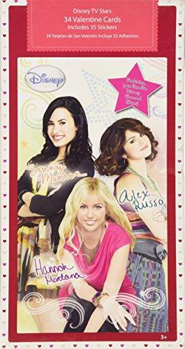 Disney TV Stars 34 Valentines - Hannah Montana, Alex Russo, Sonny Munroe ()