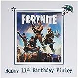 Fortnite Birthday Card Personalised Fortnight Son Grandson Nephew