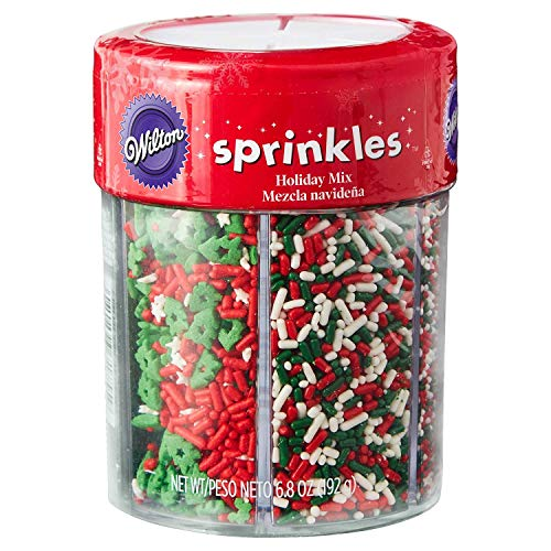 Wilton Holiday Mix 6 cell Sprinkles