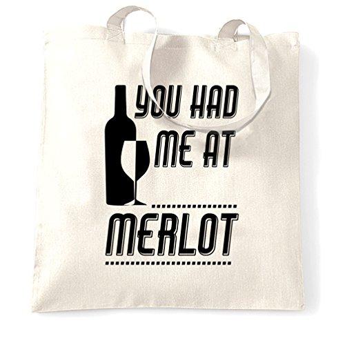 blanc Sac Mom O'clock Party Wine Pun tout fourre chez Merlot eu m'avez Vous Rencontre pvOTw6qv
