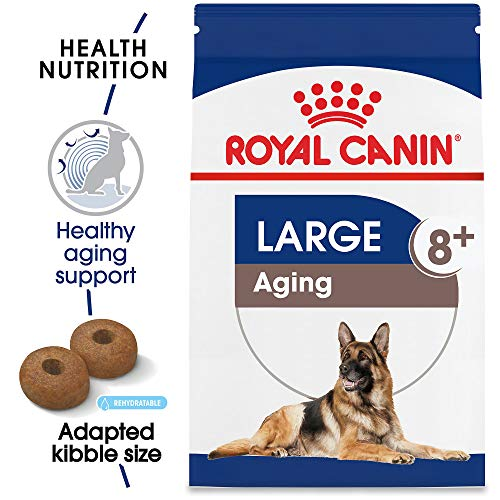 Royal Canin Size Health Nutrition Large Aging 8+ Dry Dog Food, 30-Pound