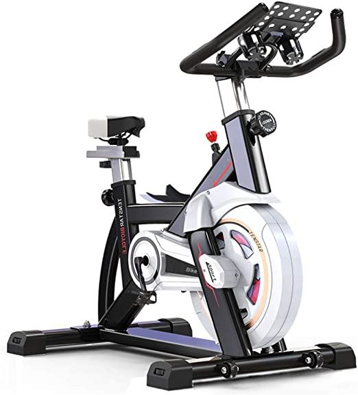 MLQ Bicicleta estática para Interiores, Bicicleta de Spinning ...