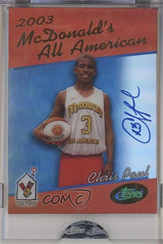 Chris Paul Manufacturer ENCASED Uncirculated (Basketball Card) 2006 eTopps McDonald's All American - [Base] - Autographs #CP