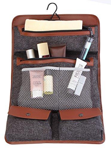 0b9cbf6a27 Jual Hanging Travel Toiletry Bag Pack It Flat Toiletry Kit