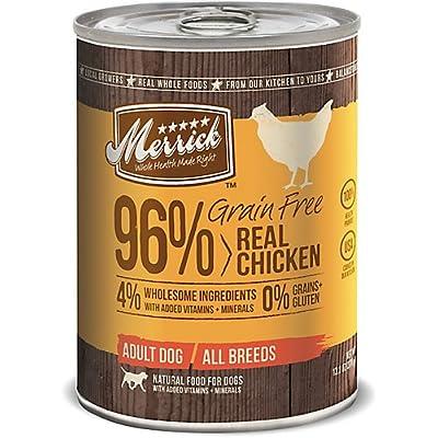 Merrick Grain Free 96 Chicken Can Dog Food 12pk