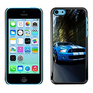 Ihec Tech / COBRA MUSTANG GT500 CAR / Funda Case back Cover guard for iPhone 5C