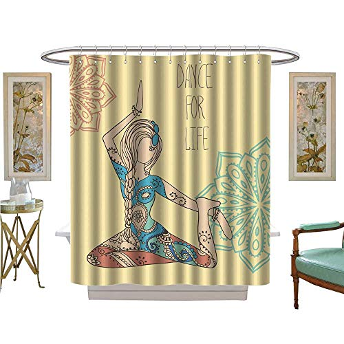 luvoluxhome Shower Curtain Collection by Dance for Life