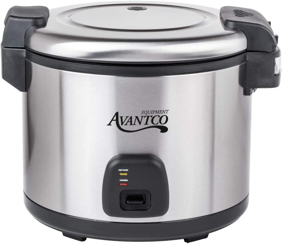 Avantco RC60 60 Cup (30 Cup Raw) Electric Rice Cooker/Warmer - 120V, 1550W
