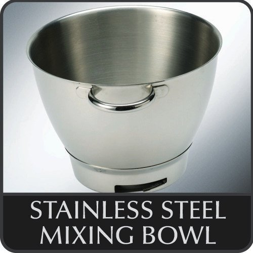 Kenwood 36385, Attachment Chef Stainless Steel Bowl with Handles, OVERSEAS USE ONLY, WILL NOT WORK IN THE US by Kenwood (Image #4)