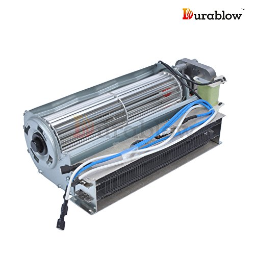 Heat And Glow Escape Fan Kit: Durablow Electric Fireplace Replacement Blower Fan Unit