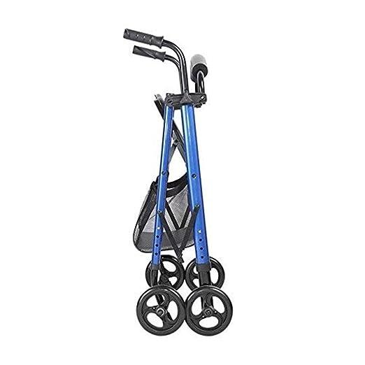 TPKNG Andador Ultraligero, Estructura Azul, Silla De Ruedas De ...