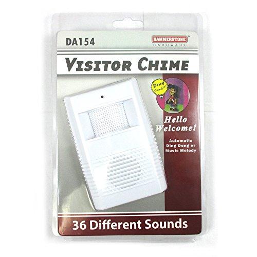 Wireless Visitor Door Bell Chime Motion Sensor Battery