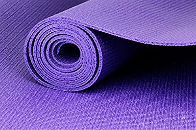 PrimeTrendz TM Eco Friendly Comfort Yoga Mat With Carrying Strap For Exercise Yoga