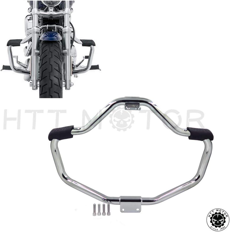 Htt groupe Moto avant chrom/é Crash Barre de barres de s/écurit/é protection Tube pour 2004 2016/Harley Davidson Sportster Iron 883/Xl883/N Xl1200/N Xl1200l 48/Xl1200/X