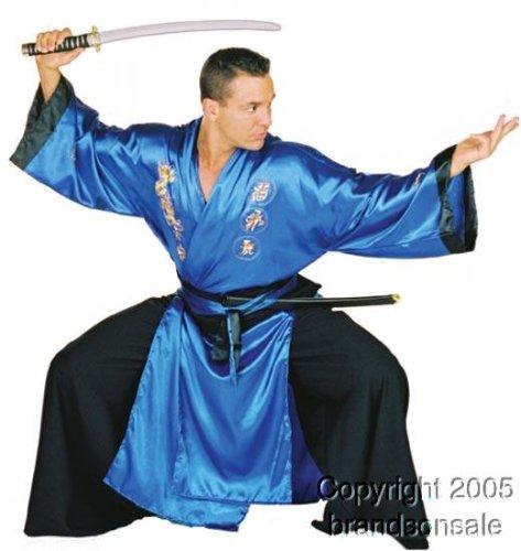 Underwraps Men's Samurai, Blue/Black, One Size