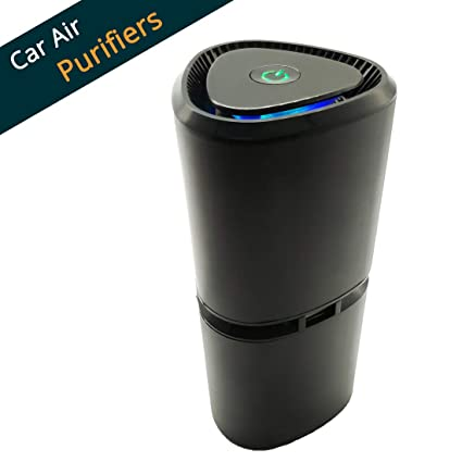 3a08ad7ad Amazon.com  Etube Car Air Purifier for Smoker Portable Air Cleaner with USB  Ports Smoke Filter in Car Air Freshener for Baby Small Room Quiet Negative  Ion ...