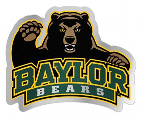 WinCraft Baylor Bears Auto Badge Decal, hard thin acrylic, 4.3x3.75 inches by WinCraft