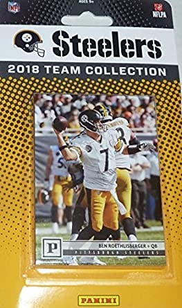 Pittsburgh Steelers 2018 Panini Factory Sealed NFL Football Complete Mint  12 Card Team Set with Ben 31e6d6867
