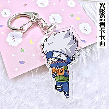 Amazon.com : Key Chains - Naruto Hokage Anime Acrylic ...