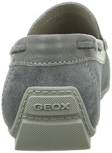 GeoxU Monet A - mocasines Hombre Gris - Gris (C9002)