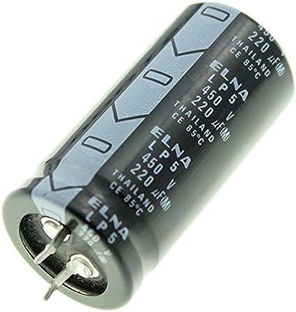 2x Snap In Elko Kondensator 220µf 450v 85 C Lp5450v221ms37 220uf Beleuchtung