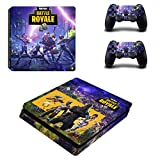 PS4 Vinyl Skin Sticker Cover for Playstation 4 System Console and 2 Controllers - Fortnite Skin (Squad)