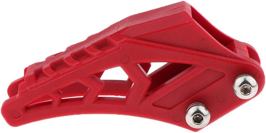 Rouge perfk Guide de Cha/îne Garde-Boue Arri/ère pour Dirtbike Accessoires De Moto