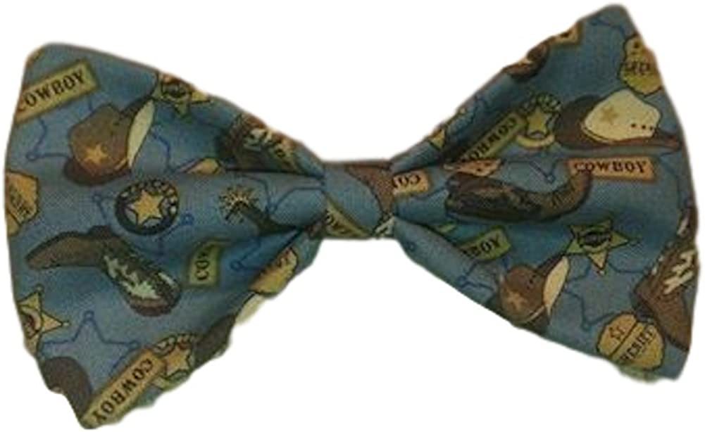 Sunflower Freckles Bow Tie Cowboy