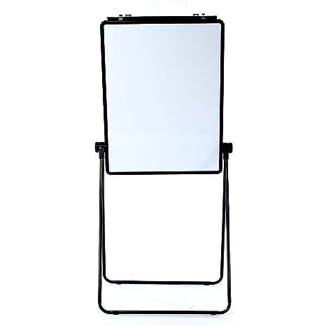 VIZ-PRO Negro Pizarra Blanca de Caballete magnética, 70x90cm