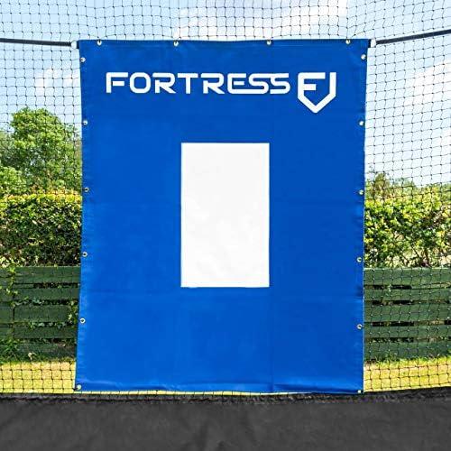 Fortress Baseball Softball Vinyl Net Saver
